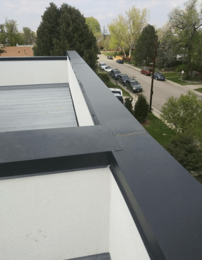 Cap Metal Installation