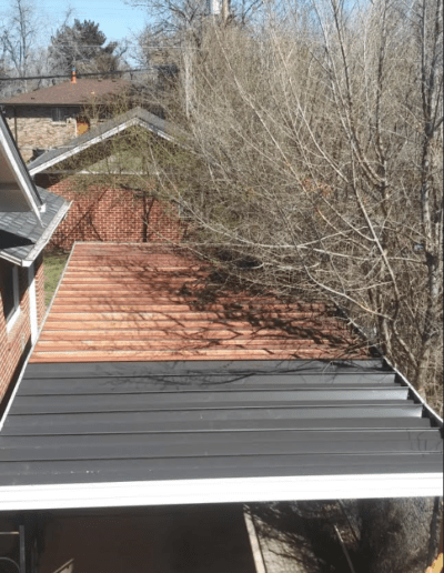 Roof Metal repair